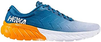 hoka One One Mach 2 Azul Blanco 1099721CBBM: Amazon.es ...