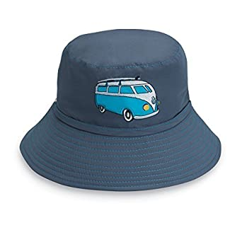 Boys Kids Wallaroo Whale Van Hat - UPF 50+ Sun Protection (2-5 Years ... f7ca84f5faba