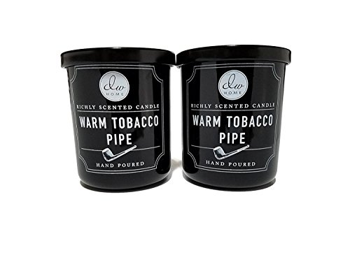 Decoware Richly Scented Warm Tobacco Pipe Small 4oz-2 Pack (Best Smelling Pipe Tobacco)