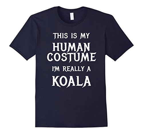 Mens I'm Really a Koala Halloween Costume Shirt Easy Funny Top Medium (College Costume Ideas)