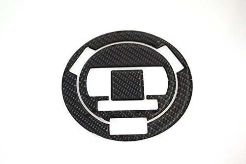 3D Carbon Fiber Tank Gas Cap Pad Filler Cover Sticker Decals For BMW HP2 SPORT 10-11 S1000R F650GS S1000RR