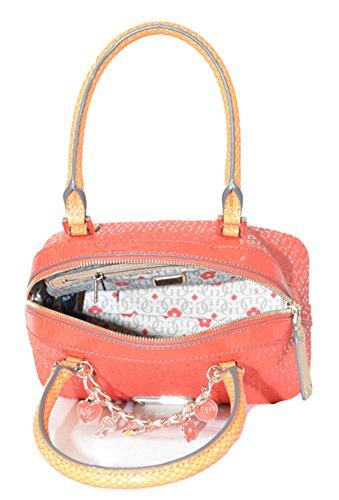Guess rot handtasche mit gurt fŸr dame, sammlung Capri Cruz