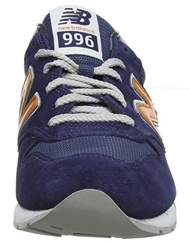 996 Orange vintage New vintage Zapatillas Balance Wn Turquesa Indigo Hombre Para RAB5qwx