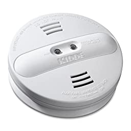 Kidde Model Pi9010 Dual Sensor, Battery Operated Photoelectric / Ionization Smoke Alarm (4-Pack)