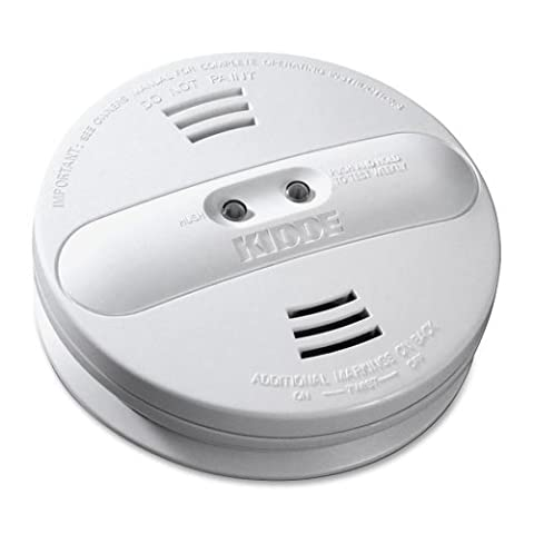 Kidde Model Pi9010 Dual Sensor, Battery Operated Photoelectric / Ionization Smoke Alarm (4-Pack) - Photoelectric Ionization Smoke Detectors