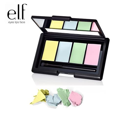 2 Pack e.l.f. Cosmetics Studio Corrective Concealer 83302 Erase & Conceal
