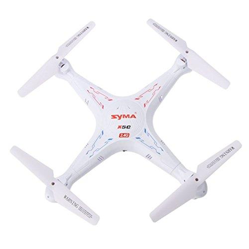 RV77 X5C WIFI RC Quadcopter, 720P HD FPV Camera Pocket Drone, Headless Mode 0.3MP 2.4G 4CH 6-Axis Gyro RTF Explorers Quad Copter with 4GB SD Card