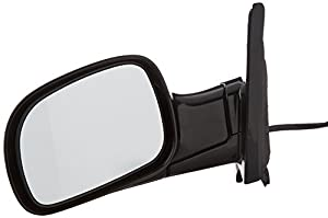 Depo 333-5403L3EBH Black Driver Side Power Heated Mirror