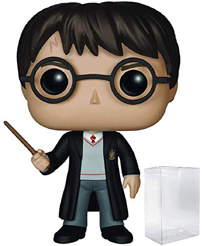 HARRY POTTER - Harry Potter #01 Funko Pop! Vinyl Figure (Includes Compatible Pop Box Protector Case)