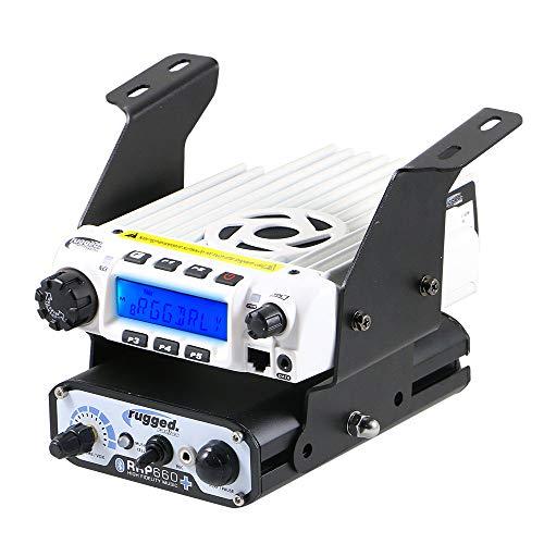 (Rugged Radios MT-XP1-BD-RM60 Polaris RZR XP1 Below Dash Mount for Rugged Radios Mobile Radios & Intercoms )
