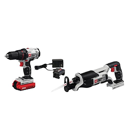 PORTER-CABLE PCCK603L2 20V Max Drill and Reciprocating Saw Combo Kit