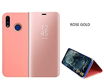 SHIEID Huawei Nova 3i Mirror Plating Flip Case With sleep