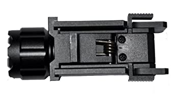 Aimkon Hilight P10s 500 Lumen Pistol Led Strobe Flashlight With Weaver Quick Release For Glock Series, Sig Sauer, Smith & Wesson, Springfield, Beretta, Ruger, & Heckler & Koch, Etc. 8