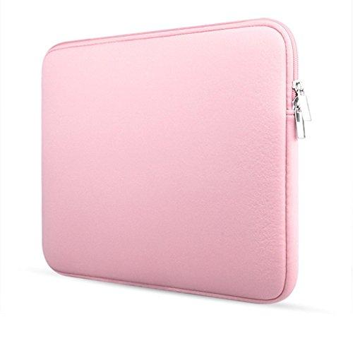 Landsell 33cm Laptop Fall Business Computer Tasche (Rosa) Blau blau (1) 11 inches pink 3 n8rx1Rqr9O
