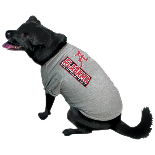 Team Pet T-shirt (NCAA Alabama Crimson Tide Pet T-Shirt, Medium, Team Color)