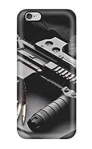 Cute Tpu Phone Case Gun Case Cover For Iphone 6 Plus