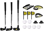 Children's Golf Clubs Children's Golf Set, Full Set of Beginners, Golf Set for Age 3-6 Years Old Outdo