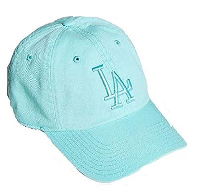 Los Angeles Dodgers MLB American Needle Tonal Ballpark Slouch Cotton Twill Adjustable Hat (Seafoam)