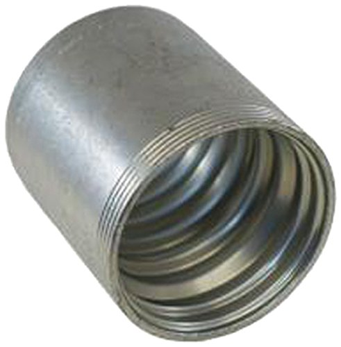 1.88 5//8 ID Pack of 5 Pack of 5 1.88 GS Ferrule for 4-Spiral Hose Zinc Plated Carbon Steel 5//8 ID Gates 10GS1F-4 GlobalSpiral Couplings