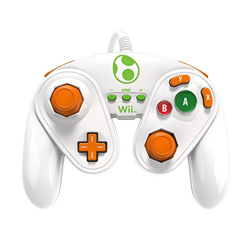 PDP Wired Fight Pad for Wii U - Yoshi (Wii U Games That Require Motion Plus)