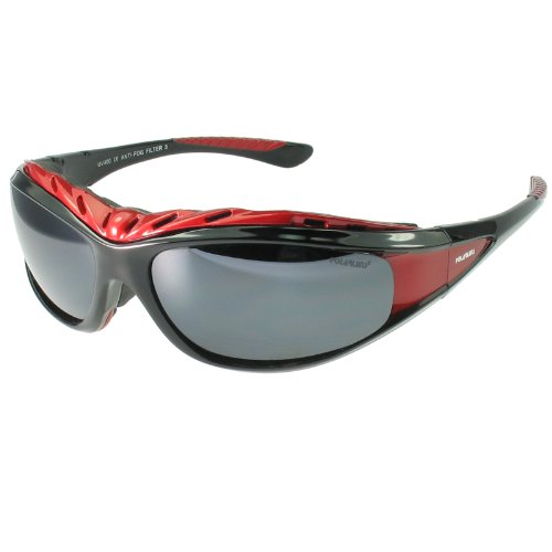 Snowboard Sunglasses (Polarlens G7 Multisport Sunglasses, Ski and Snowboard Goggles, Motor Sports, Water Sports Glasses with Reflective Flash Mirror, Ultralight Polycarbonate includes headstratp and forehead padding)