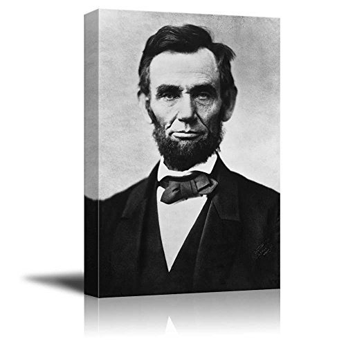 Portrait of Abraham Lincoln - Inspirational Famous People Se