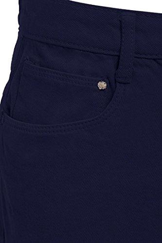 Split 36 effiloch Femmes Noir Jupe de Indigo Blanc Taille Denim Nouveau Jupes Femme 42 SS7 WvwqOS85Zv