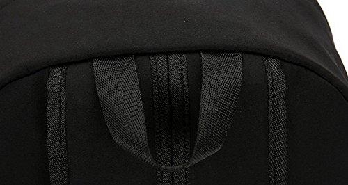 École AgooLar à Femme Sacs sacs Noir bandoulière Dacron Weekender Tourisme Des qBYxrB48