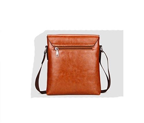 Shoulder Backpack Messenger Travel Leisure Men's Bag purpose Laidaye Brown Multi Business P5aqzn