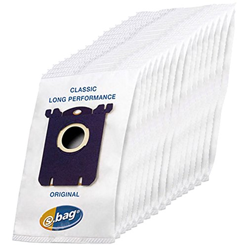 AEG UltraOne UltraSilencer Vacuum Cleaner S-Bag Cloth Dust Bags (Pack of 16 - E201 E201B) (Aeg Cooker Hoods)