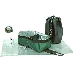 PetZen Dog-To-Go Dual Packable Bowl and Bottle