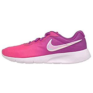 Best Epic Trends 41IBariVwVL._SS300_ Nike Girl's, Tanjun Print GS Sneaker - Big Kid Pink Purple 4.5 M