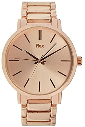Armbanduhr Flexwatches Rose&Gold Hadley