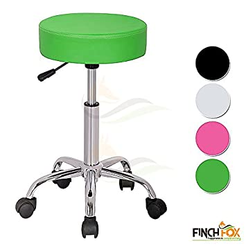 Groovy Height Adjustable Swivel Faux Leather Chair For Salon Spa Ocoug Best Dining Table And Chair Ideas Images Ocougorg