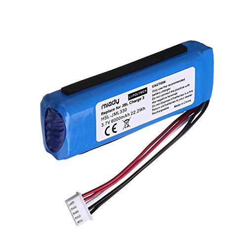 Miady 6000mAh/22.2Wh/3.7V Li-Polymer Bluetooth