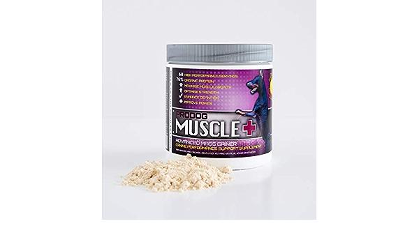 ProDog Nutrition Muscle+ | Ganador de masa de peso natural y orgánico para perros