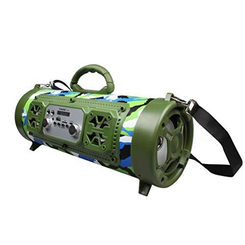- AHAYAKU Outdoor Portable Bluetooth Speaker Subwoofer Multifunction Card Microphone Sound