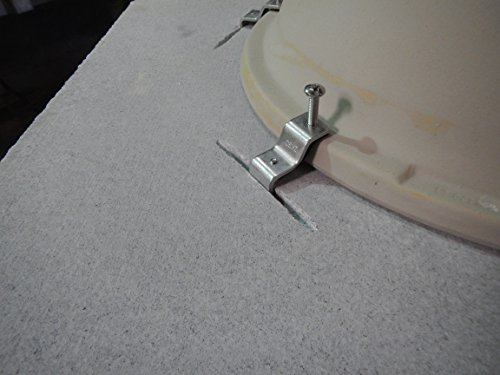 GoClips 5-Second Anchors for Undermount Sinks(Pack of 25) by Z Keepers LLC (Image #3)