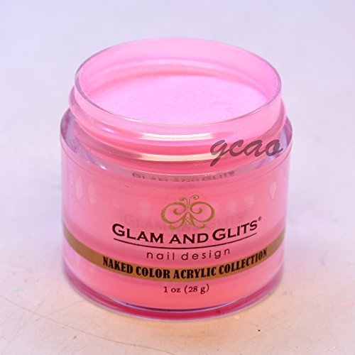 Glam Glits Acrylic Powder 1 oz Pink Me Or Else! NCAC412