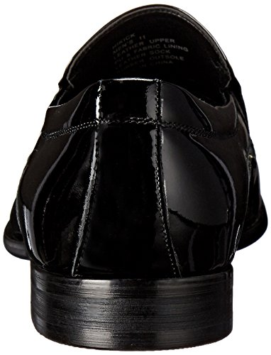 Steve Madden Mens Hikick Slip-on Mocassino Nero Patent