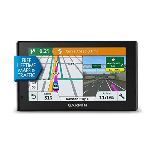 Garmin DriveSmart 51 LMT-S - GPS Auto - 5 pouces - Cartes Europe 46 pays - Cartes, Trafic, Zones de danger à vie - Wi-Fi intégré - Appels mains libres product image