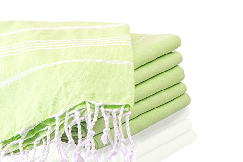 LaModaHome Bath Towel Grey and White Absorbent Quick Dry ...
