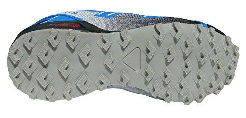 gibra® Deportes Guantes, muy ligera y cómoda, color negro/azul, talla 36–41 negro/azul