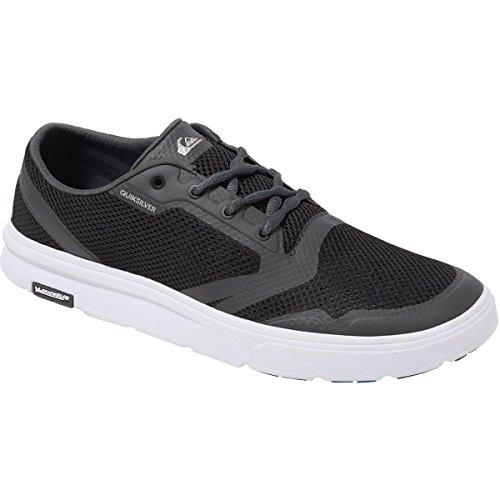 Quiksilver Men's Amphibian Plus Skate Shoe, Black/Grey/White, 8(41) D US from Quiksilver