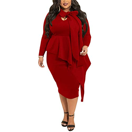 lexiart Plus Size Dresses 2019