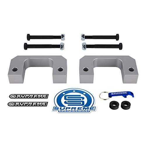 Supreme Suspensions - Front Leveling Kit for Chevrolet Silverado 1500 and GMC Sierra 1500 [6-Lug] 1
