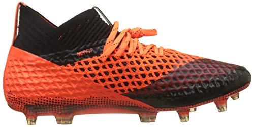 1 Netfit Black De Fútbol Negro Puma Zapatillas shocking 02 Hombre Para Orange 2 Fg Future puma ag qOwwEt0x