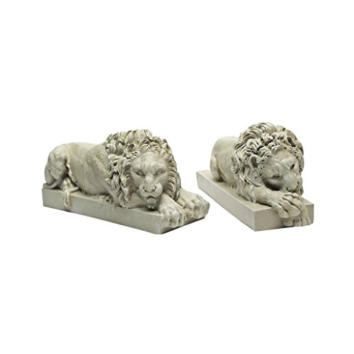 Price comparison product image Design Toscano Lions from the Vatican Sculptures
