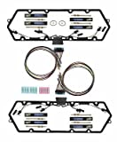 7.3L 1999-03 FORD POWERSTROKE VALVE COVER GASKETS WITH HARNESS & GLOW PLUG SET