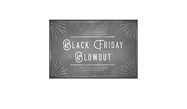 5-Pack 30x20 Basic Black Window Cling CGSignLab Credit Cards Accepted